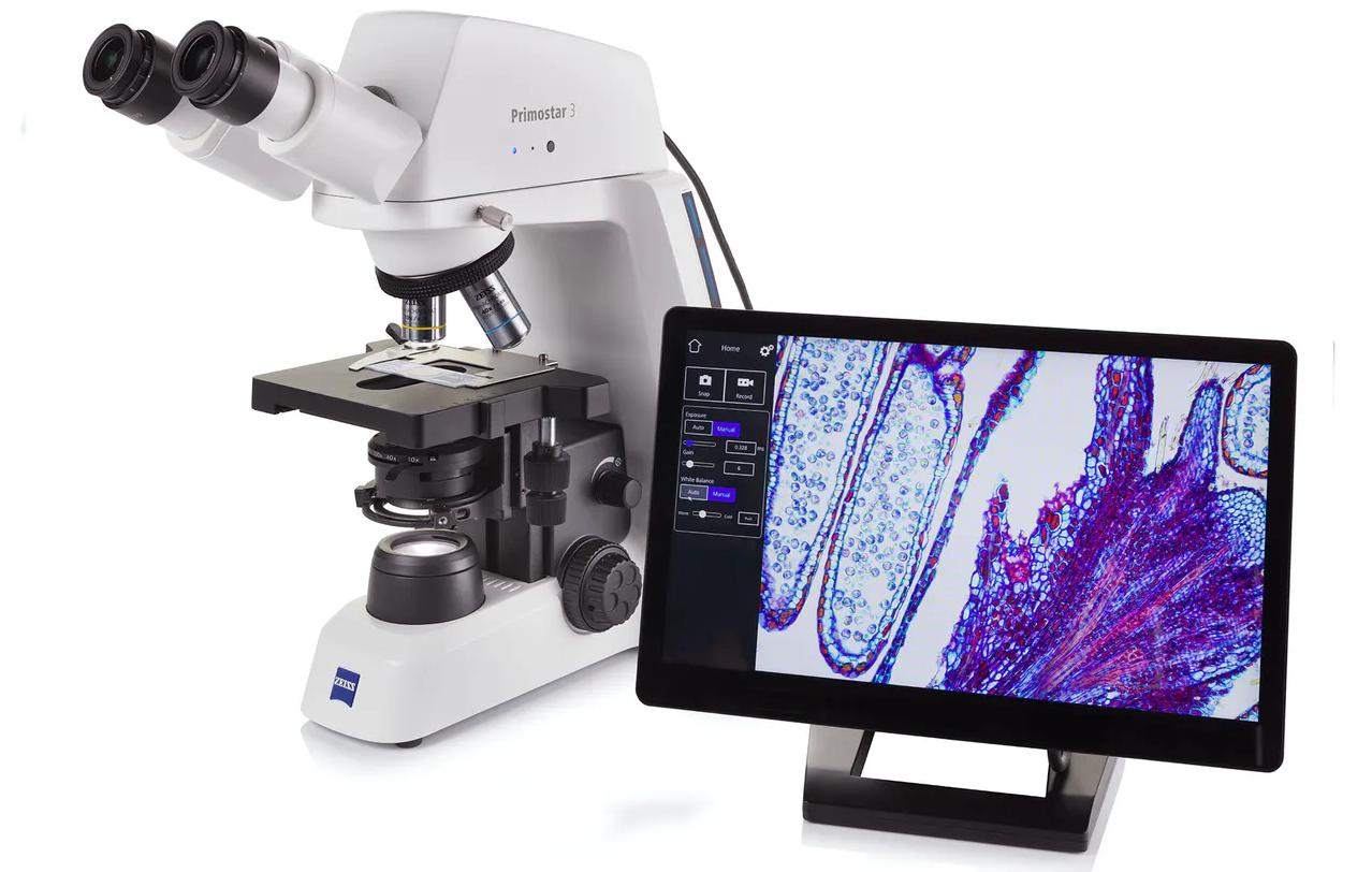 Microscope ZEISS Primostar 3 CAM Microscope de biologie
