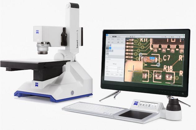 Contrôle non destructif par microscope numérique