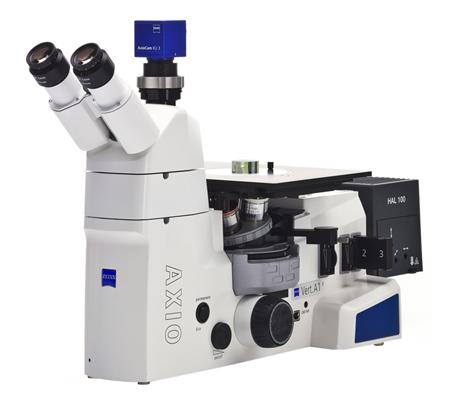 Axio Vert A1 ZEISS microscope métallographique inversé