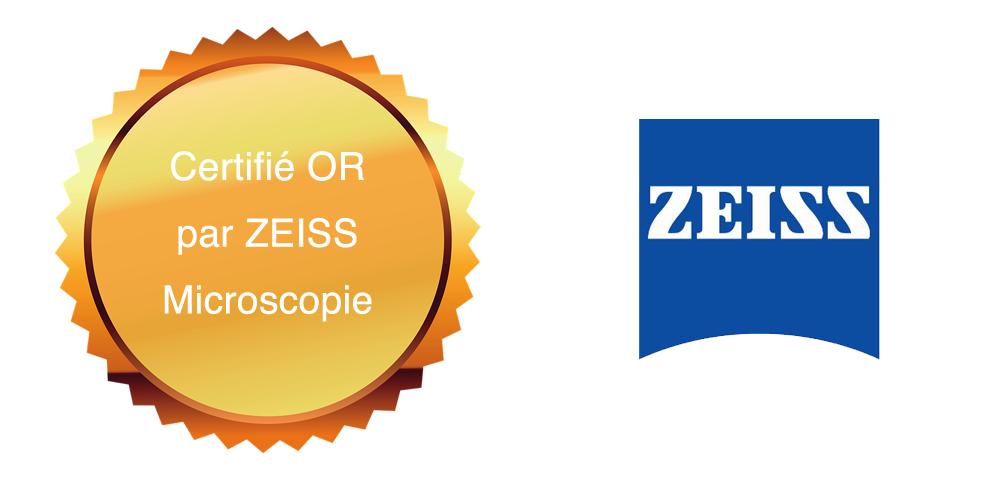 Votre spécialiste certifié OR par ZEISS