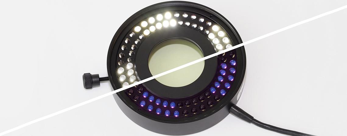 Annulaire UV pour Stéréomicroscope