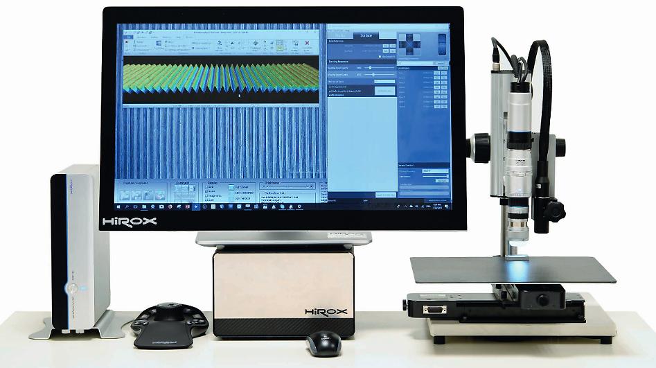 Profilomètre Optique 3D - Hirox Nano Point Scanner