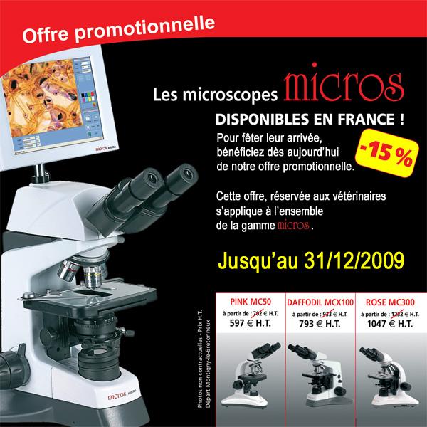 Microscope de vétérinaire - MICROS