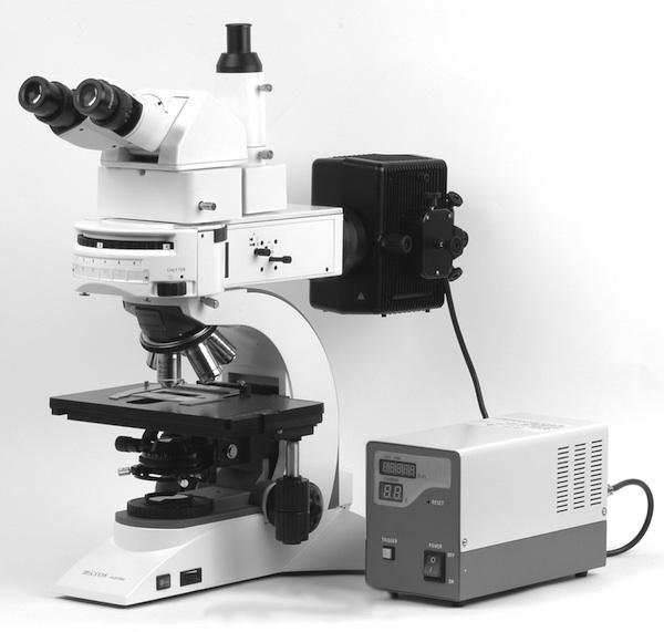 Microscope Lily MCX500 à fluorescence