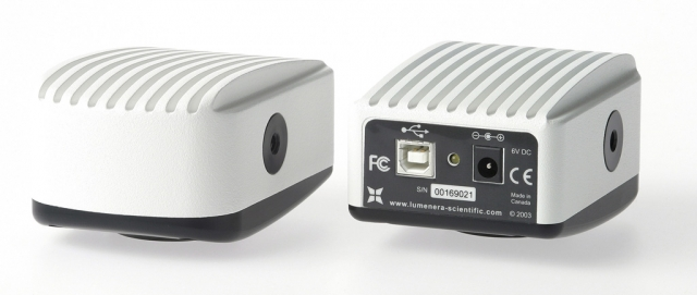 Caméras LUMENERA pour la Microscopie