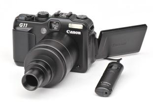Adaptateur pour Microscopes - APN CANON PowerShot G11