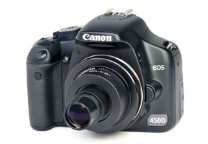 Caméra Digitale APN CANON EOS 450D