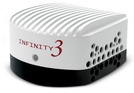Caméras de microscopie INFINITY 3 CCD USB 2.0