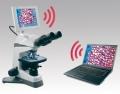 Microscope vidéo de laboratoire