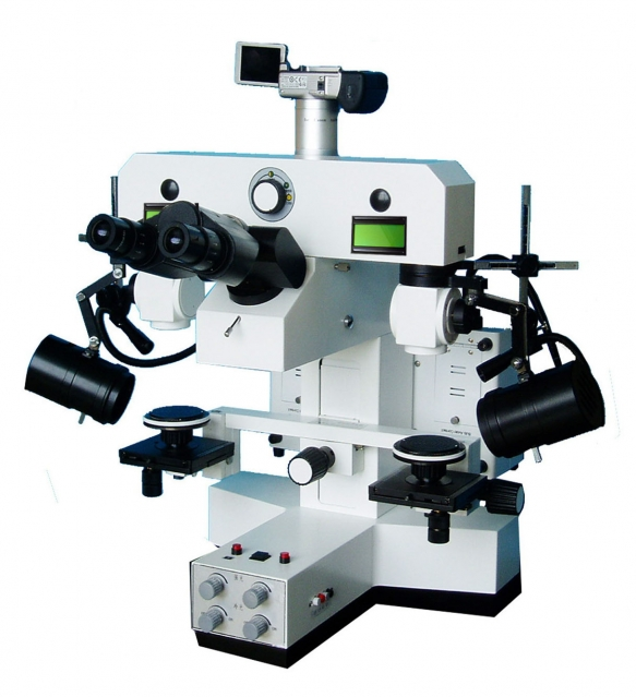 Microscopes balistique de comparaison