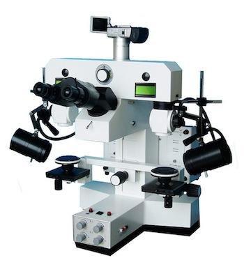 Microscope Motorisé MC-9B de comparaison