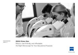 ZEISS Primo Star - Microscopes de Biologie