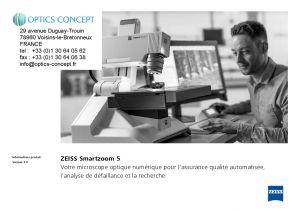 ZEISS SmartZoom 5 Microscope Numérique