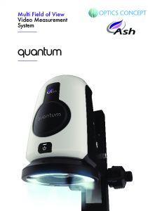 Système de mesure vidéo Quantum Ash