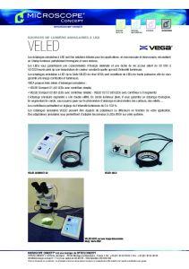 Eclairages annulaires à LED - VEGA