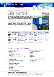 DeltaPix Série INVENIO II CMOS