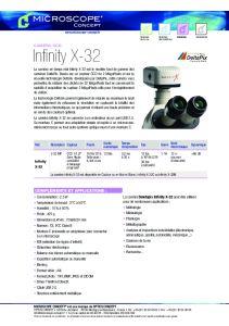 Caméras DeltaPix Infinity X-32